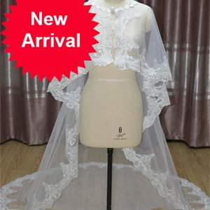 Jackets Wraps Bridal Capes Cloak Tulle lace Shawl veil Wedding Accessories capa coprispalle donna Shrug bolerko