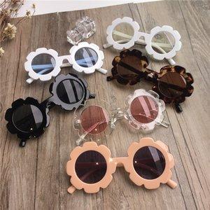 Новый малыш летние дети детские девочки пляжные солнцезащитные очки ребенка ребенок солнце открытый носить солнцецвет очки дети подарок UV400