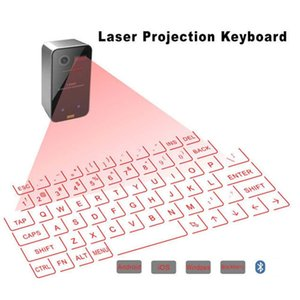 Wireless Laser Projector Keyboard Portable Bluetooth Virtual Keyboards With Mouse Function For Tablet Computer PC Laptop Smart Phone Android tv box