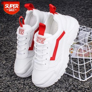 AKEXIYA- Women Chunky Sneakers Fashion Dad Shoes For Women Spring Autumn White Black Shoes Chunky Sneaker Vulcanize #Jq65