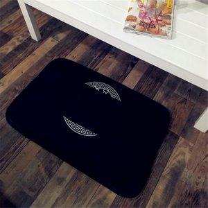 Designer Bathroom Mat Bath Carpets Modern Home Floor Rugs For Living Room Bedroom Toilet Bathtub Side Foot Pad Anti-skid