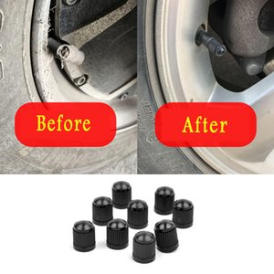 50pcs Black Plastic Auto Car Bike Motorcycle Truck Wheel Tire Valve Stem Caps Car Wheel Caps On The Nipple