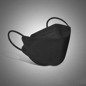 Máscara KF94 para crianças ou adultas à prova de poeira e proteção respirável em forma de salgueiro Pacote individual por atacado navio rápido