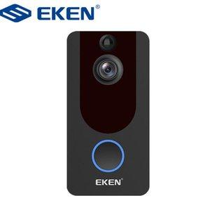 EKEN V7 HD 1080P Smart WiFi Video Doorbell Camera Visual Intercom With Chime Night vision IP Door Bell Wireless Security