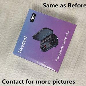 Écouteurs sans fil Écouteurs Écouteurs Transparence Transparence Metal Rename GPS Chargement des écouteurs Bluetooth Génération In-Oret Détection pour téléphone portable
