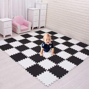 Mei qi cool baby EVA Foam Play Puzzle Mat for kids  Interlocking Exercise Tiles Floor Carpet Rug,Each 30X30cm 9 18 24 30 pieces H0831