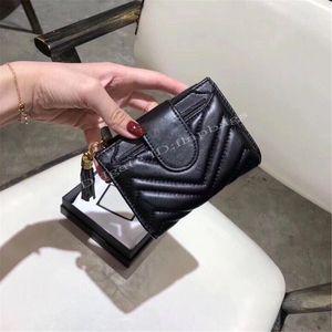 """Luxo famosos designers moda chaveiro chaveiro saco de cartão preto acolchoado """"V"""" padrão bolsa simples multi-funcional carteira pequena bolsa de embreagem casual"""