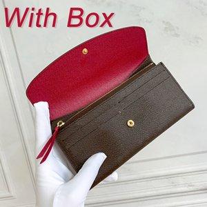 Purse Wallet Zipper Women's Bag Female Fashion Card Holder Pocket Long Women Coin Purses Canvas Bags With Box DustBag