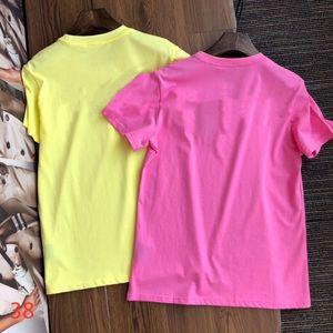 2021 Moda tendência de manga curta t-shirt Mensclothes verão fitness exercício de alta qualidade estilista senhora senhora mangas curtas-camisa curta de compras por atacado