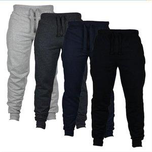 Jogging chinos apertado-montagem jogging camuflagem nova moda moda harem calças longas calças sólidas homens calças home esporte ao ar livre 554 y2