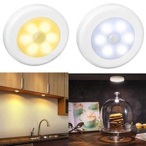 Lâmpada LED do Sensor Night Infravermelho Motion Bulbos Automático e Desligado Potência da Bateria de Armário para Lâmpada de Parede Home Escada de Gabinete