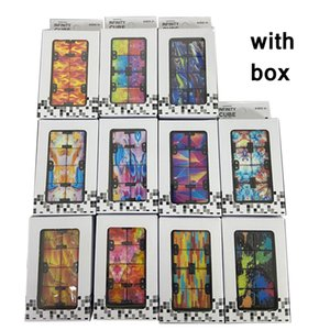 Infinity Magic Cube Creative Galaxy Fitget toys Antistress Office Flip Cubic Puzzle Mini Blocks Decompression Toy with Retail box