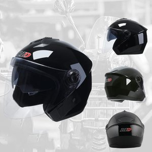 Motorcycle Helmets Cool Helmet Electric Bike Dual Lens Visor Men Women Summer Scooter Moto