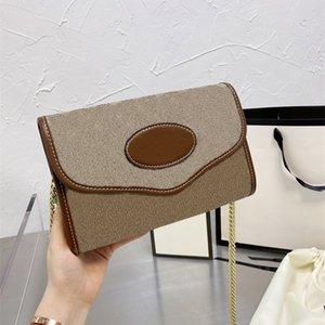 21s Frauen Kette Handtasche Designer Taschen Crossbody Geldbörsen Handtaschen Mode Stil Hohe Qualität Abend Umhängetasche