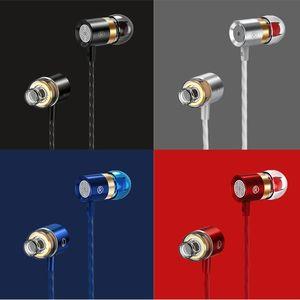 Universal In-ear Earphone Hifi Super Bass Headset 3.5mm Stereo Earbuds Headphone Wired Mic Earbud Headphones & Earphones