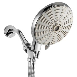 High Pressure Handheld Shower Head Set 6 Inch Powerful 8 Function Spray With Hose Kit For Home K888 Bathroom Sets
