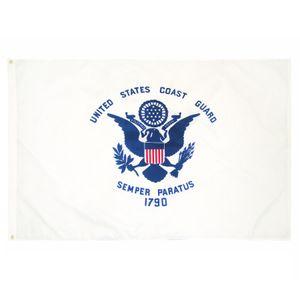 Fabrikpreis-Übergabe 3 von 5 ft Polyester Vereinigte Staaten von Amerikanischen Militär USCG Küste Guard Flag HWD5793