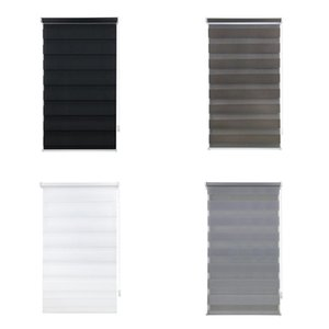 Blinds Easy Fix Zebra Roller Blind Day Night Curtains With Install Accessories Wholesales