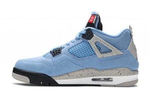 Spécial 4 4S SE Université SE BLUE BASKETBALL DESIGNER chaussures 2021 Jumpan EXCLUSIF Jumpman Baskers Sneakers Sports Sports Taille 40-47.5 Navire avec boîte