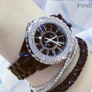 2021 Korean style watch manufacturers exclusively customized female diamond watches lady's Fashion accessories Wristwatches for woman's favorite