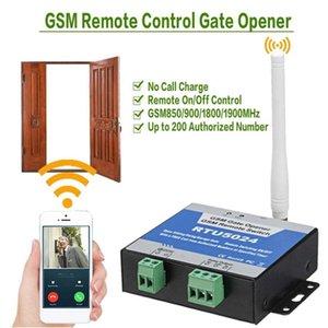 Kinjoin GSM Gate Opener Switch Switch Porte sans fil Porte Télécommande Porte d'accès à la porte RTU5024