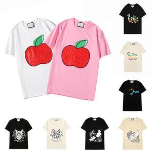 21ss Womens Mens Designers T Shirts Tshirts Fashion Letter Printing Short Sleeve Ladys Tees Luxurys Casual Clothes T-shirts Clothing 2021
