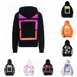 2021 Mens Hoodies Hip Hop Men Streetwear Letter Hoodie Man S Womens Designers Hooded Skateboards Hoody High Street Pullover Sweatshirt Clothes