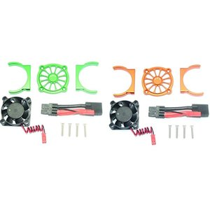 Fans & Coolings Remote Control Car Parts Motor Cooling Fan For 1 10 TRAXXAS E REVO 2.0 RC Part Multi-Color Accessories