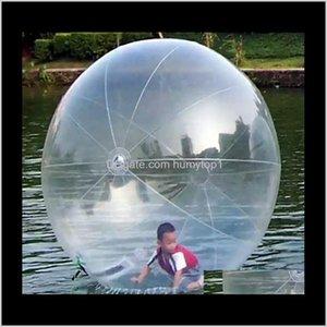Şişme Su Sporları Yürüyüş Topu Su Haddeleme Topu Su Balon Zorb Topu Şişme İnsan Hamster Plastik Kargo Fede N7HRV NOIC4