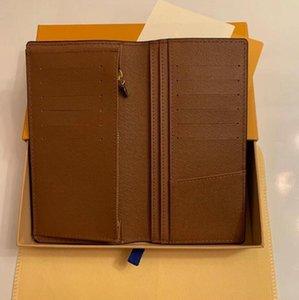 بدلة مقطع محفظة الطريقة الأكثر أنيقة لتحمل المال، والبطاقات والعملات المعدنية تصميم الرجال الجلود محفظة حامل بطاقة 62665