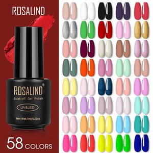 Rosalind Gel Nagellack Lampe Alle für Nägel Kunst Maniküre mit mattem Basis Oberschicht Semi Dauerhaft Gellak Nagelgelkleinchen