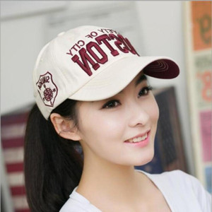 ball caps Korean version men's letters baseball cap fashion couple spring and summer outdoor women's sunshade duck tongue hat