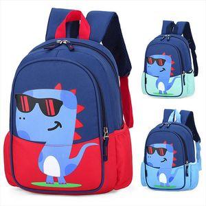 Bolsas de la Escuela de los Niños Dinosaurios para niños Mochilas de Kindergarten Creative Animals Niños Bolsa Mochila Infantil