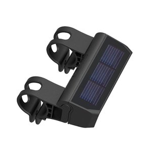 Bike Light Smart Solar Headlight Waterproof LED Bicycle Front Reading Super Bright For Mountain Electric Scoote Lights