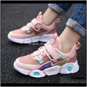 Unisex Children Comfortable Sneakers For Boy Breathable Fashion Pink Girls Tenis Infantil Size 2738 210303 Nofum Athletic Glxus