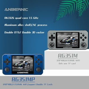 Portable Game Players Anbernic RG351MP Retro Video Console RG280M Support PS1 Games Metal Shell RG350M RG351M Electronic Machine Retrogame