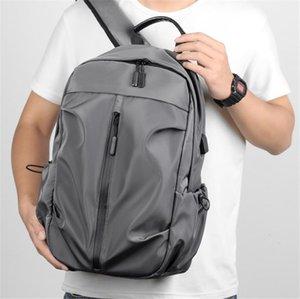 NORE Brand Travel Ноутбук рюкзак Bagpack Сумка с USB Зарядки Порт Fit 14-дюймовые ноутбуки бизнес Водонепроницаемое Колледж Школа Компьютерное хранение для мужчин