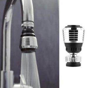 صنبور البلاستيك سبلاش فوهة للتدوير موفق المياه دش حمام صمام تصفية الأجهزة اثنين من المياه المخرج أوضاع صنابير المطبخ