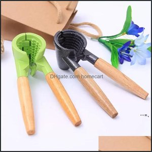 Fruit Vegetable Tools Kitchen, Dining Bar Home & Gardennutcracker With Nips Clamps Aluminum Kitchen Tool Mti-Functional Nut Sheller Walnut C