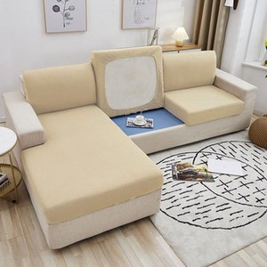 Cushion Decorative Pillow Sofa Seat Cushion Cover Removable Slipcover Furniture Pets Kids Protector Washable Solid Color Thick Couch Covers