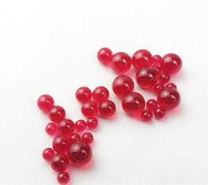 New 4mm 6mm 8mm Ruby Terp Pearls Dab Beads Insert Smoking Tools For Beveled Edge Quartz Banger Glass Bongs Dab Rigs Water