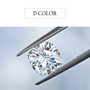 Szjinao Loose Gemstones Moissanite Diamond D Color VVS1 4mm To 11mm Excellent Cut Gem Stone Under Undefined Pass Diamond Tester