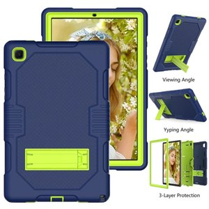 Cover For Samsung Galaxy Tab A7 10.4 2020 T500 T505 T507 Case Shockproof Kids Safe PC Silicon Hybrid Stand Full Body Tablet