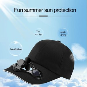 Mini Hava Soğutma Fanı Balıkçılık Yaz Spor Açık Şapka Kap Güneş Güneş Enerjisi Ile Soğuk Bisiklet Enerji Soğutucu Soğutucu Soğutucu Araba Hayranları