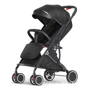 Sit And Lie Baby Stroller Lightweight Folding Portable Child Strollers#