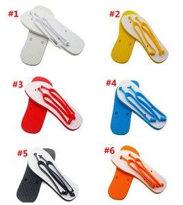 Sublimação Blanks Chinelos de borracha Borracha Flat Bottomed Home Mobiliário Flip Flops Homens Mulheres Interior Sapatos de Banho Presentes de Moda WWA282