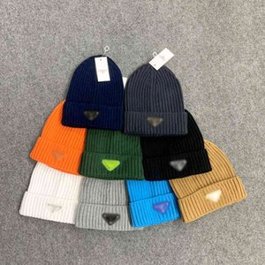 Autumn and winter hat triangular iron standard knitted hat P Jiachao Korean winter cold Hat Cotton