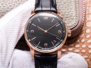 TNK Luxe Watch 41mm Mens Montres Cal.4302 Core Ceramic Cadran 28800 Matériau de veau à deux côtés Matériau Lumineux Bracelet lumineux