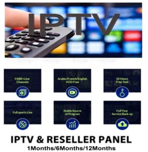 European M3U high clear remote control support smart TV, IPTV Android ands iPhone,which can be used in US, France, UK,Canad, Germany, Sweden,etc