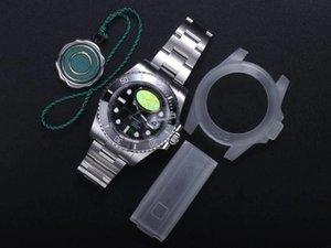 Top N Factory V10 Mechanische Uhren 904l Fine Stahl, Größe 40mm Saphir Kristallglaswerk, 2836-3135 Keramikgehäuse draußen